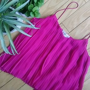 Abercrombie & Fitch top pleated pink [0070]